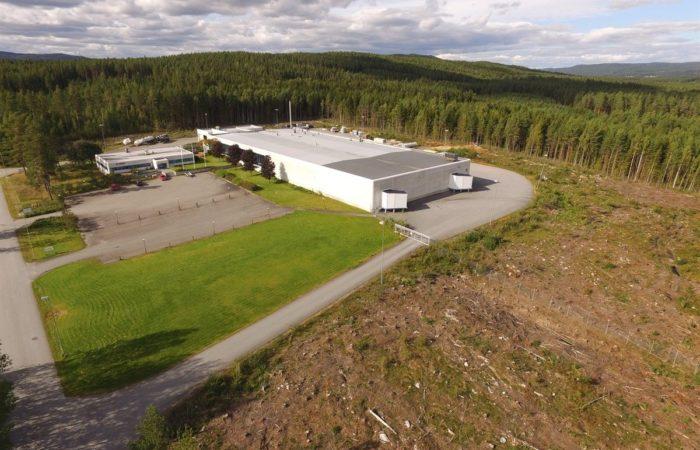 Slomarka 57 - bilde ovenfra med drone