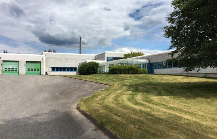 Slomarka 57 - Bilde av bygningen utenfra (kontorbygget)